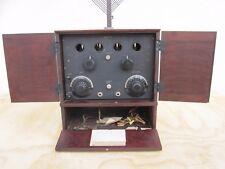 DEFOREST RADIO D10 TUBE 1920 ANTIQUE VINTAGE SET DE FOREST PRE-1930 COLLECTIBLE