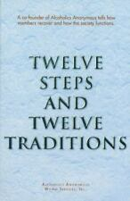 Twelve Steps and 12 Traditions paperback book FREE SHIPPING Alcoholic addiction