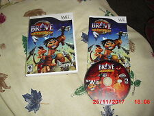 Brand New Brave: A Warrior's Tale Game (Nintendo Wii, 2009)