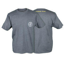 Klein Tools MBA00121-2 Large Gray Short-Sleeve Pocket T-Shirt With Lineman Logo