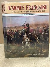 L'ARMEE FRANCAISE By Edouard Detaille - 1992 - color uniform plates French Army
