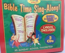 Bible Time Sing Along CD - 35 Sunday School Favorites on 2 CDs NEW (NIP)