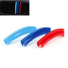 M Sport Kidney Grill 3 Colour Cover Strip For BMW X3 11-17 X4 2014 Cap Clip UK