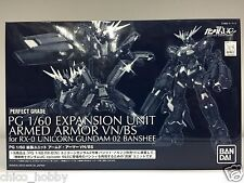 Premium Bandai PG 1/60 Expansion Unit Armed Armor VN/BS Unicorn Gundam 2 Banshee
