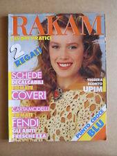 RAKAM Lavori Pratici - Giugno 1990 - rivista di Lavori Femminili  [G582]