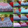 "Indian Mandala  Cushion Ottoman Pouf Dog Bed 37"" Square Floor Pillow Case Throw"