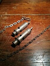 More details for the metropolitan police whistle  and the acme city police whistle with chains