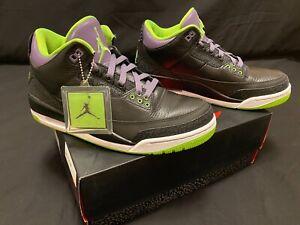 Nike Air Jordan 3 Retro (2012) Joker - 136064-018 - Size 9.5 -100% Authentic