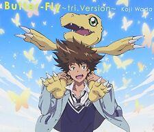 Brand New Wada Koji Kouji Butter Fly tri.Version DIGIMON ADVENTURE CD