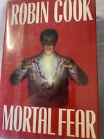 Mortal Fear Signed by Robin Cook 1st Autographed HC
