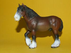 27) Schleich Schleichpferd Horse Pferd Kaltblut Shire Wallach 13247 top erhalten