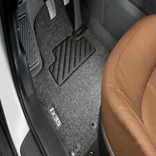 - Schwarz Nadelfilz 4tlg Ösen clips 2009-2015 Fußmatten Hyundai ix35