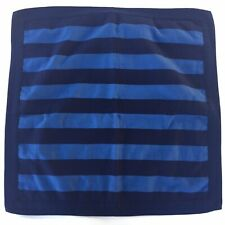 Southern Tide Euro Pillow Sham Navy Blue Striped 100% Cotton
