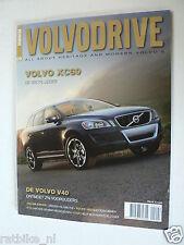 VOLVO DRIVE MAG 09,XC60,V40,850 GLT,C70,V70R,PININFARINA,940,960,240 BROECKX