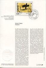 FDC / PREMIER JOUR / ART / TABLEAU / ANTONI TAPIES PARIS 1992
