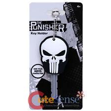 Marvel Punisher Key Cap PVC Key Holder Rubber Key Protector Key Chain