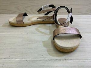 Splendid Malone Ankle Strap Sandal, Women's Size 8 M - Rose Gold MSRP $98