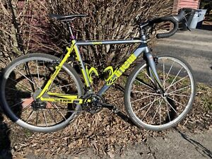 Cinelli Cyclocross Bicycle 54 cm gravel sram