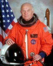John Glenn Space Shuttle Astronaut 8x10 Silber Halogen Fotodruck