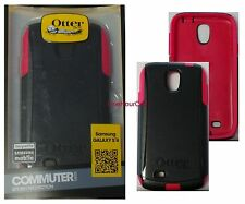 OtterBox Commuter Series Case for Samsung Galaxy S4, Raspberry, 77-27785