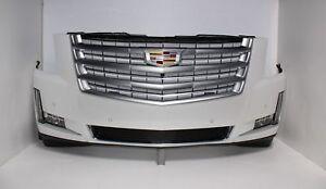 2015 2016 2017 2018 Platinum Cadillac Escalade Front Bumper Assembly  OEM-GM
