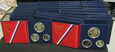 (10) 1976-S SILVER Proof 3 Coin 1776-1976 40% Silver Proof Sets - Dealer Lot