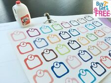 PP052-- 40pcs Little Weight Scale Life Planner Die-cut Stickers for Erin Condren