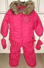 Pampolina Mädchen Schneeanzug Jacke Hose Pink Gr. 80 Herbst/Winter! So süß!