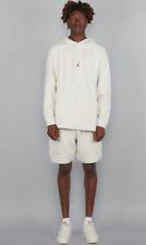Jordan JSW Wings Fleece Sweatshirt Hoodie New Cream Red Sportswear 939956-072 L