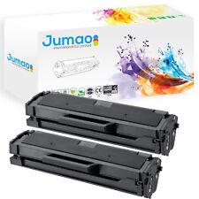 2 Toners cartouches type Jumao compatibles pour Samsung m2026w, Noir 1000 pages