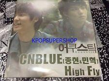 CNBLUE Lee Jong Hyun Kang Min Hyuk High Fly Digital Single CD Great Promo Rare