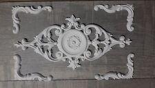 Ornamente - Set, 5-teilig, Stuck, Relief, Vintage Shabby Chic Nr.8