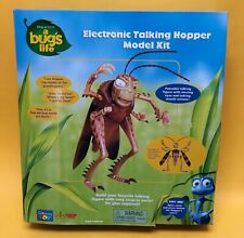 RARE Vintage Disney Pixar A Bug's Life Electronic Talking Hopper Model Kit NRFB