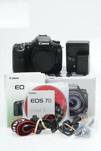 Canon EOS 7D 18MP Digital SLR Camera Body #614