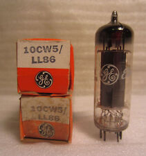 Lot Of 2 10CW5 LL86 GE General Electric Electronic Vacuum Audio Radio Tube NOS