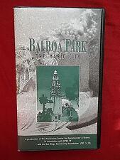 Balboa Park: The Magic City VHS Video  KPBS-TV San Diego California Documentary
