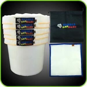 BUBBLEBAGDUDE All Mesh 5 Gallon 5 Bag Herbal Hash Ice Extractor Kit - Comes...