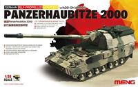 Meng Model 1/35 TS-019 German Panzerhaubitze 2000 w/ADD-ON Armor Hot