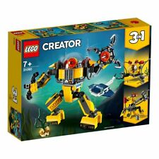 NEW LEGO CREATOR UNDERWATER ROBOT 3 in 1 31090 SEALED