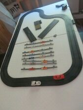 Vintage Matchbox electric racing track & 2 cars, slot car, working with Barriers