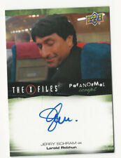 Jerry Schram The X Files Ufos & Aliens Paranormal Script Autograph Card Auto