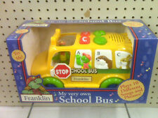 NEW - FRANKLIN PLAY SCHOOL BUS LEARNING TOY - 10 DIFFERENT SONGS & PHRASES