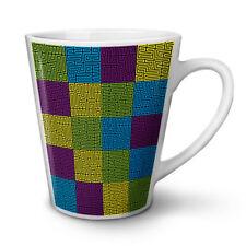 Maze Geometric Fashion NEW White Tea Coffee Latte Mug 12 17 oz   Wellcoda