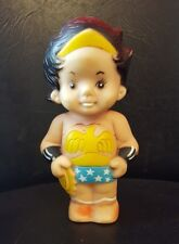 Kid Wonder Woman DC Comics Taiwan 1978 Super Jr. Vinyl Figure Squeaky Toy