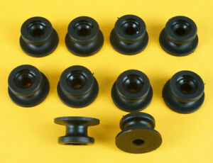 10 x Tarpaulin Roller Button Cleats for Trailer Cover Bungee Cord Rope Tie Down