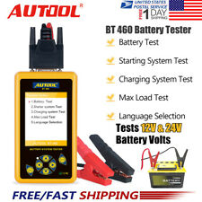Autool BT-460 12V 24V Car Battery Tester Charging Analyzer Lead-acid AGM Testers