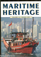 MARITIME HERITAGE  vol 1.2   March 1997  world wide naval affairs incl modelling