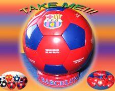 FC BARCELONA SUPER SOUVENIR THE PLASTIC FOOTBALL SOCCER BALL WITH THE EMBLEM