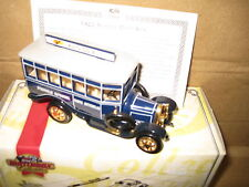 MATCHBOX COLLECTIBLES 1922 SCANIA POST BUS STOCKHOLM SWEDEN  YET04-M