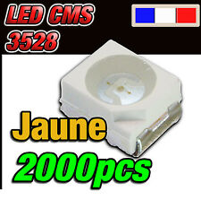 133/2000# LED jaune CMS 3528 250mcd  ** 2000 pcs **  SMD yellow PLcc2 TL